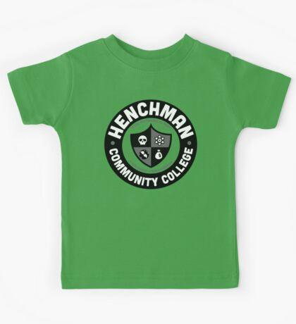 Henchman Community College Kids Tee
