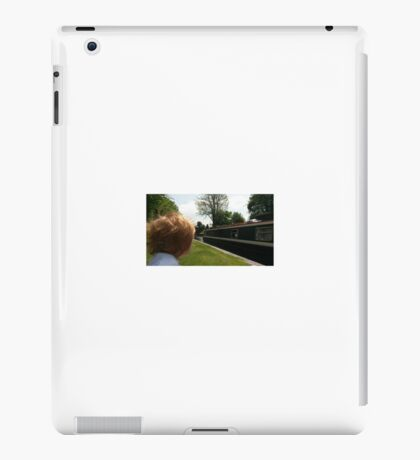 "Painted Lady Narrow Boat ""Image Through A Childs Eyes"" iPad Case/Skin"