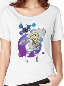 Pokemon Sun/Moon - Lillie and Nebby Women's Relaxed Fit T-Shirt