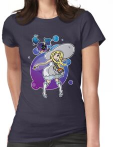 Pokemon Sun/Moon - Lillie and Nebby Womens Fitted T-Shirt