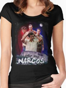NARCOS Women's Fitted Scoop T-Shirt