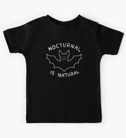 Nocturnal is Natural Kids Clothes