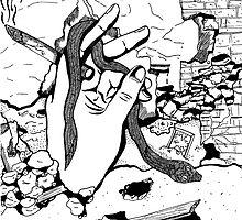 Smoking Hand by KaitlinDonovan
