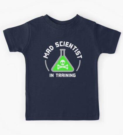 Mad Scientist in Training Kids Clothes