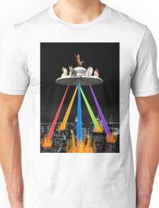 CAT INVADERS Unisex T-Shirt
