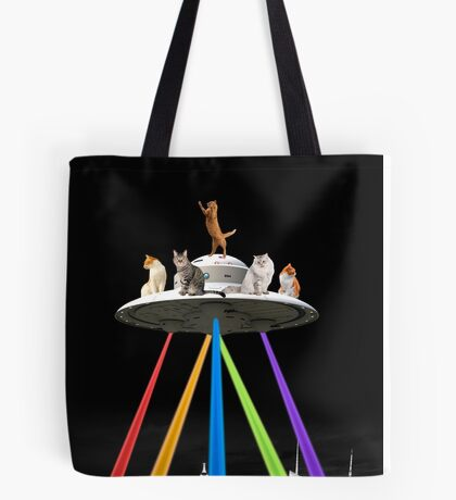 CAT INVADERS Tote Bag