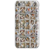 Michaelangelo - Sistine Chapel Ceiling iPhone Case/Skin