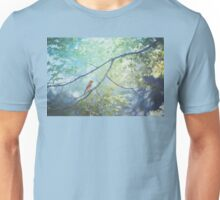 Goldfinch, Green, and Blue Unisex T-Shirt