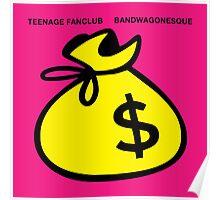 Teenage Fanclub Bandwagon Poster