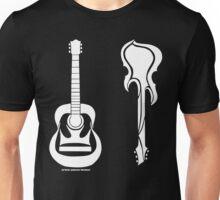 Acoustic vs Electric Unisex T-Shirt