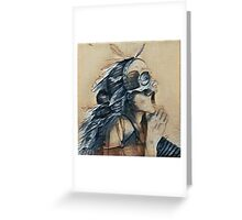 shaman of blue jays Greeting Card