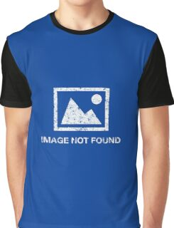Image not found - error (rusted version) Graphic T-Shirt