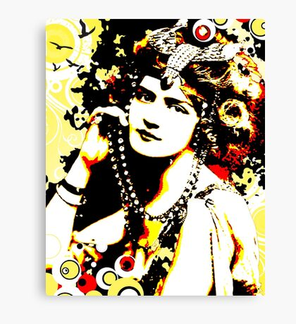 Victorian Temptation Canvas Print