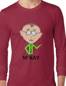 M'KAY Long Sleeve T-Shirt