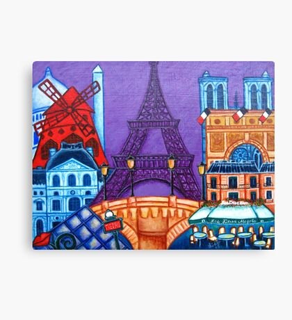 Wonders of Paris II Canvas Print