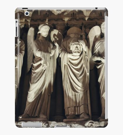 Gothic Background with Chimeras iPad Case/Skin