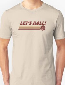 Let's Roll Roleplaying Game Dice T-Shirt