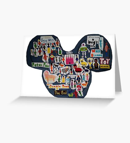 Mouse Ears Greeting Card