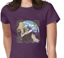 Books: Gateway to Other Realms Womens Fitted T-Shirt