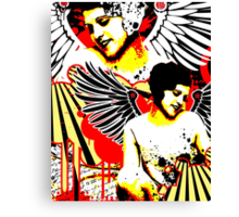 Vexed Angel Canvas Print
