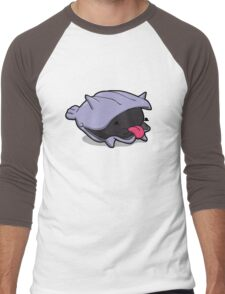 Number 90 - Little Shell Dude Men's Baseball ¾ T-Shirt