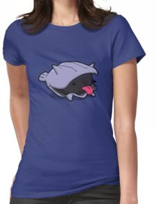 Number 90 - Little Shell Dude Womens Fitted T-Shirt