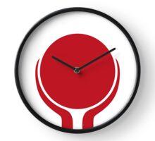Red Hands Clock