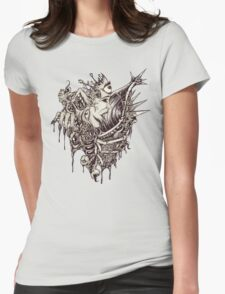 Heart of Darkness or Something Womens Fitted T-Shirt