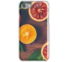 Still Life with Ripe Juicy Citrus Fruits iPhone Case/Skin
