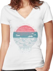 The Great Thaw Women's Fitted V-Neck T-Shirt