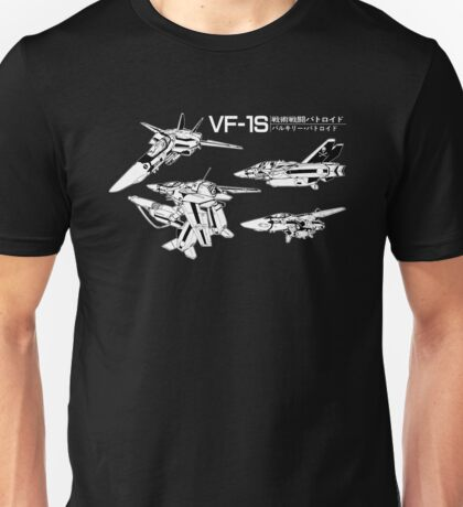 Macross Robotech  VF-1S Valkyrie Unisex T-Shirt