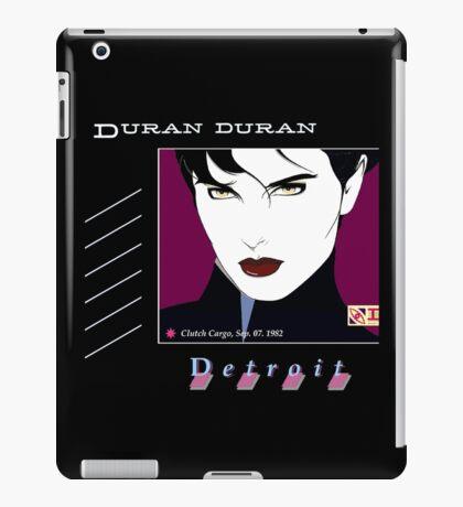 Duran Duran Detroit iPad Case/Skin