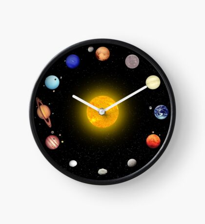 Space Pattern Clock