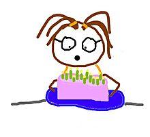 Jenny Quips Birthday! Photographic Print