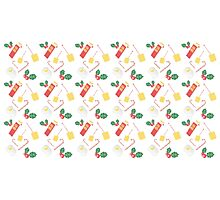 Marvellous EGG NOG knitted pattern Photographic Print