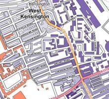 Multiple Deprivation North End ward, Kensington & Chelsea Sticker