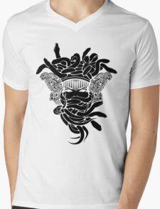 Gucci Medusa Mens V-Neck T-Shirt