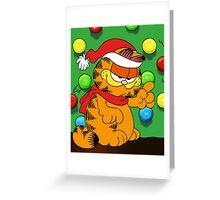 GARFIELD CHRISTMAS 1 Greeting Card