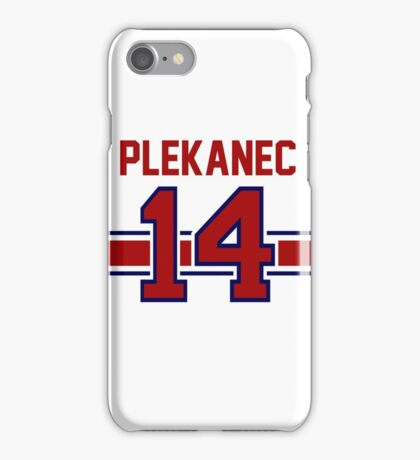 Tomas Plekanec - Montreal Canadiens iPhone Case/Skin