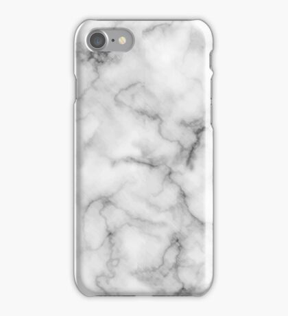 White Marble #redbubble #lifestyle iPhone Case/Skin
