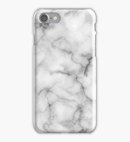 White Marble #redbubble #lifestyle iPhone Case/Skin