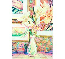 Lillies and Rainbows Photographic Print