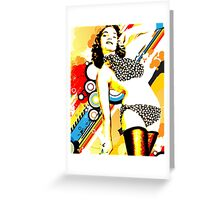 Polka Dottie Greeting Card