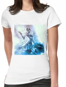 Elementalist Lux Ice Womens Fitted T-Shirt