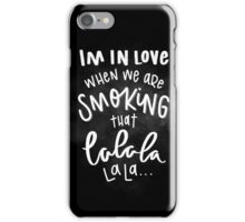 Me and Your Mama iPhone Case/Skin