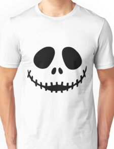 Jack Skellington  face Unisex T-Shirt