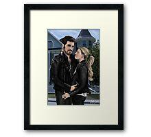 Matching Jackets - Captain Swan art  Framed Print