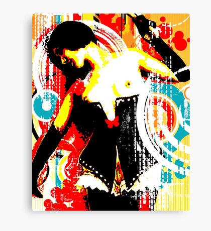 Damsel In Domination Canvas Print
