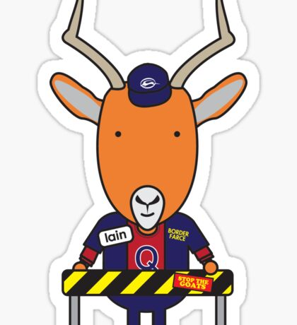 Iain the Immigration Officer Impala Sticker