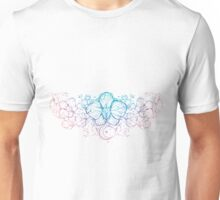 Blue Flower Unisex T-Shirt